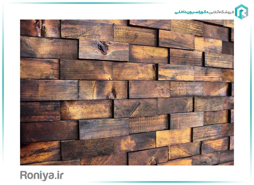 دیوار پوش طرح چوب مدل داتیس کد w107