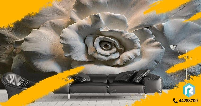 پوستر دیواری گل